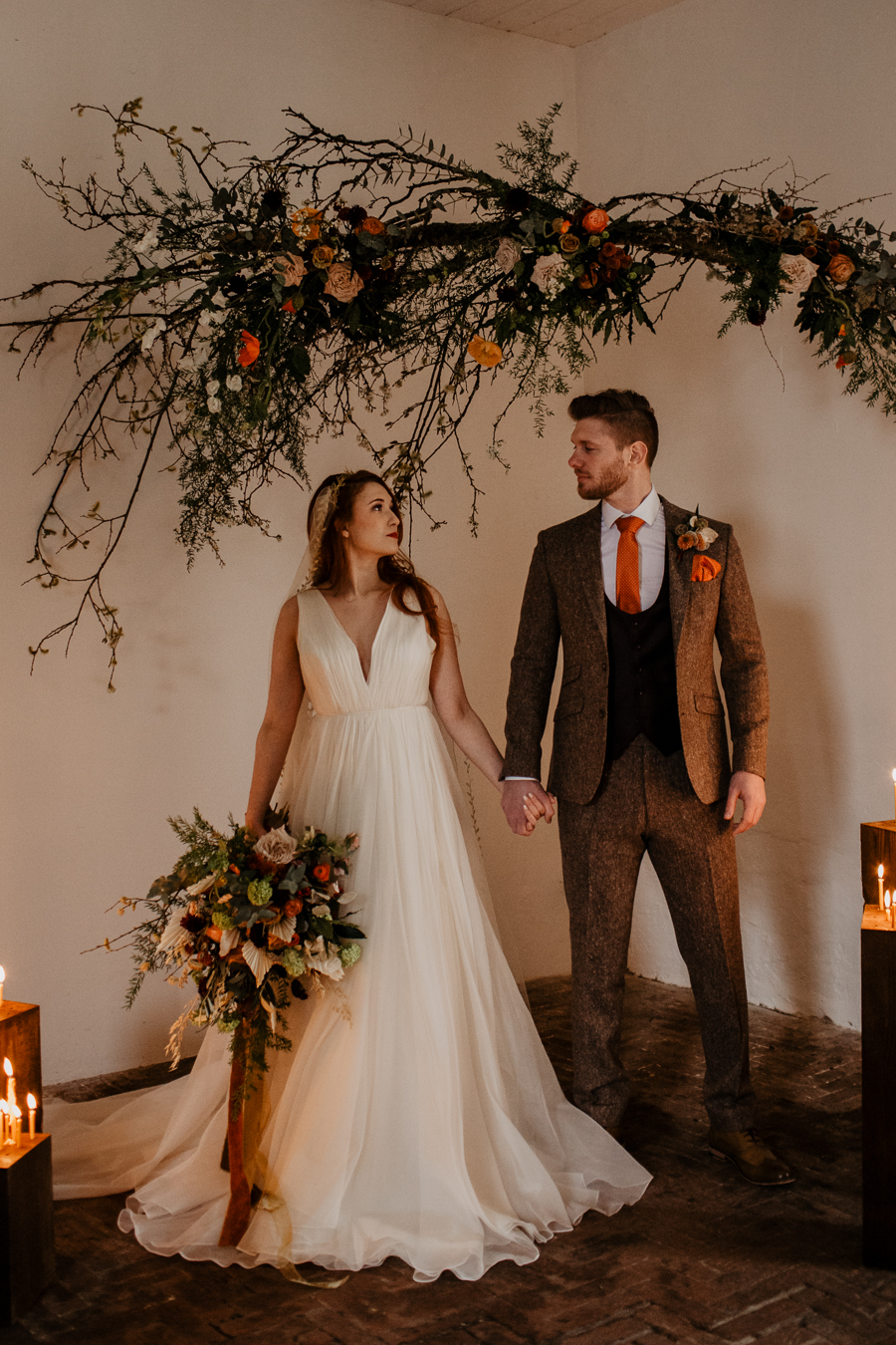 The Toast and Olivejoy Photography's breathtaking wedding styling blog from Bignor House (9)