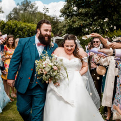 Will & Karis's creative plant-filled wedding at The Great House in Sonning, with Damion Mower Photography