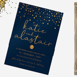 'Tis the season to get married… a focus on winter wedding invitations