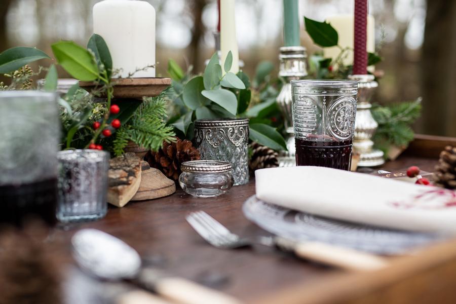 Winter woodland wedding styling ideas, image credit Photography by Chantel (1)