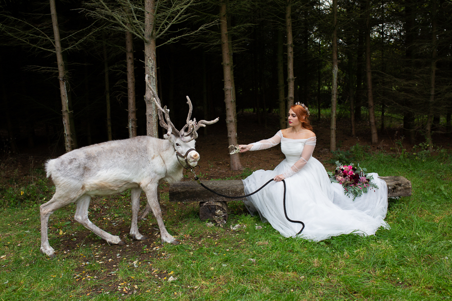 Winter woodland wedding styling ideas, image credit Photography by Chantel (16)
