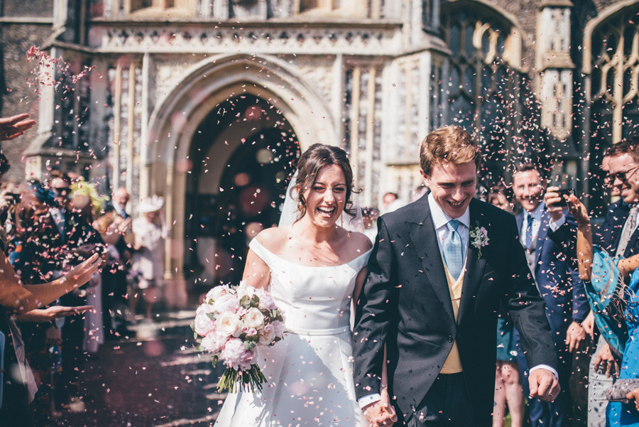 A beautiful real wedding at Henham Barns photographed by Helen Jane Smiddy