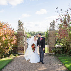 Emily & Philip's classic, autumnal Layer Marney Tower wedding with Ayshea Goldberg Photography