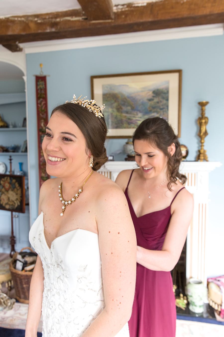 Real wedding by Ayshea Goldberg Photography at Layer Marney Tower (43)