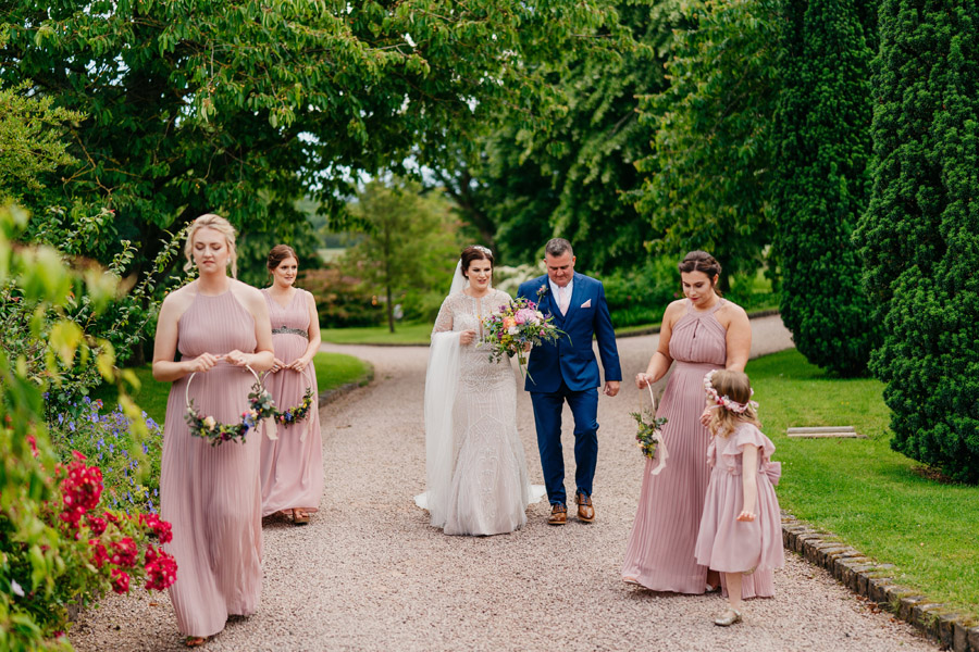 Fabulous florals for an amazing English wedding at Dewsall Court with Jarek Lepak Photography (17)