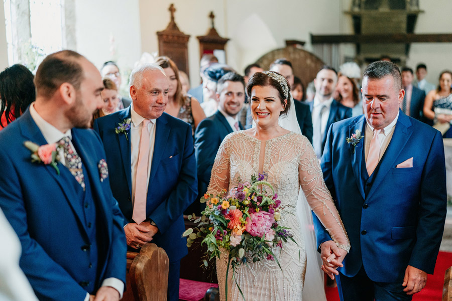 Fabulous florals for an amazing English wedding at Dewsall Court with Jarek Lepak Photography (18)