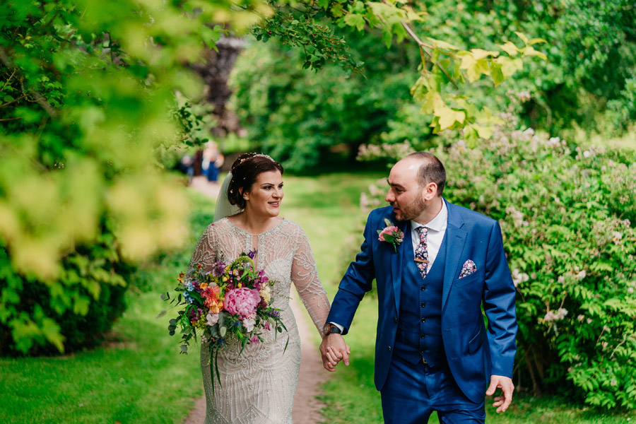 Fabulous florals for an amazing English wedding at Dewsall Court with Jarek Lepak Photography (20)