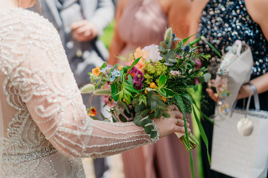 Fabulous florals for an amazing English wedding at Dewsall Court with Jarek Lepak Photography (22)