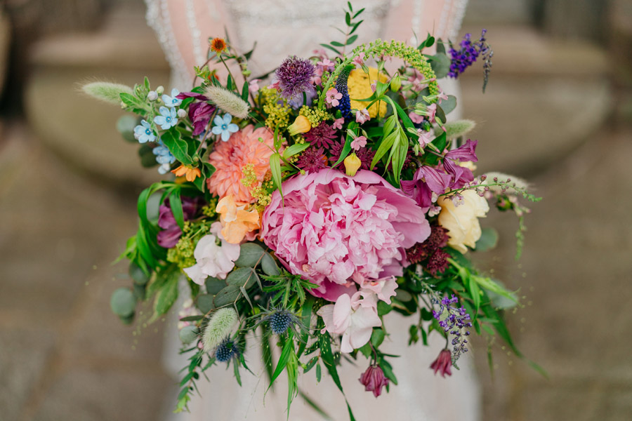 Fabulous florals for an amazing English wedding at Dewsall Court with Jarek Lepak Photography (24)