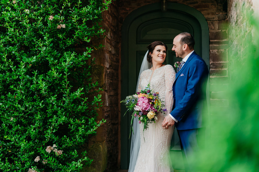 Fabulous florals for an amazing English wedding at Dewsall Court with Jarek Lepak Photography (30)