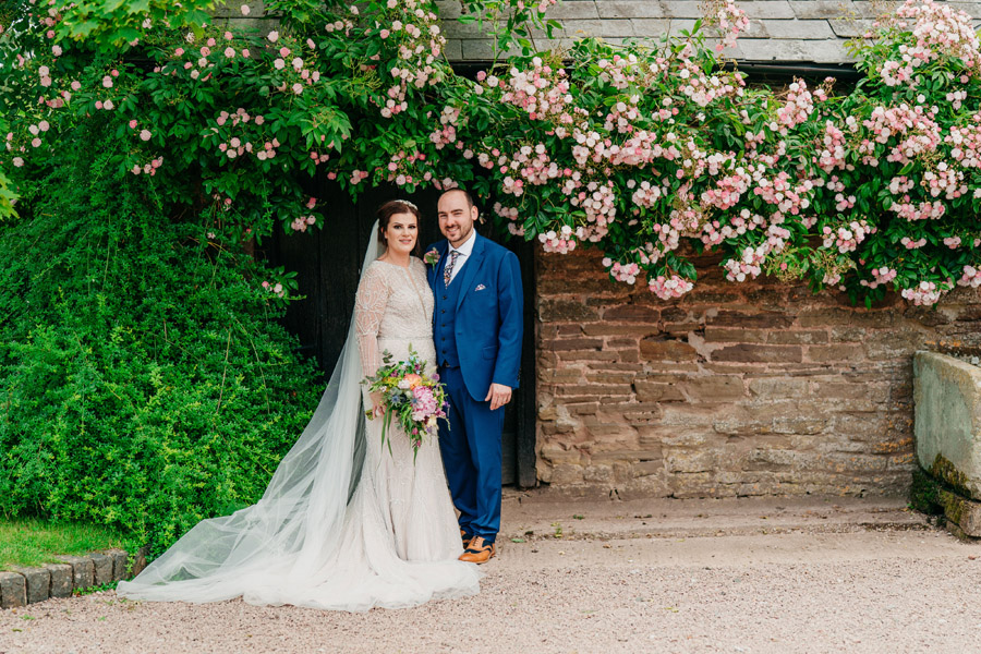 Fabulous florals for an amazing English wedding at Dewsall Court with Jarek Lepak Photography (32)