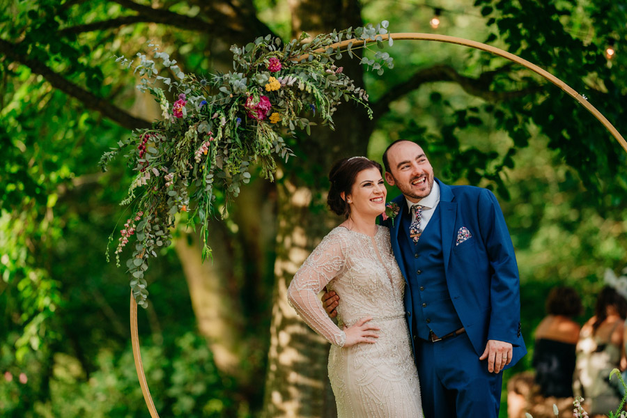 Fabulous florals for an amazing English wedding at Dewsall Court with Jarek Lepak Photography (40)
