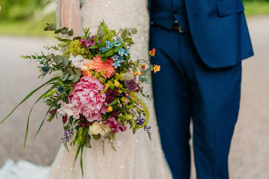 Fabulous florals for an amazing English wedding at Dewsall Court with Jarek Lepak Photography (45)