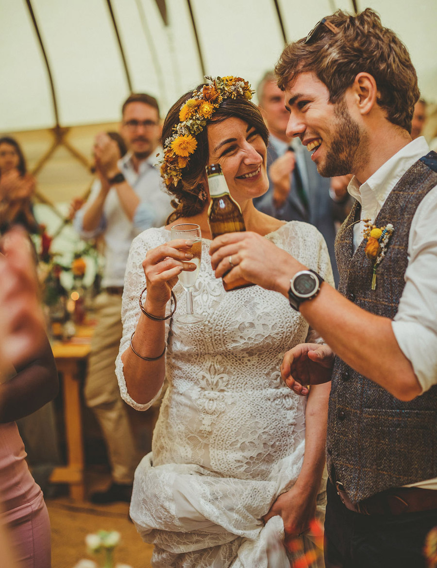 Festival wedding photography UK by Howell Jones Photography (15)