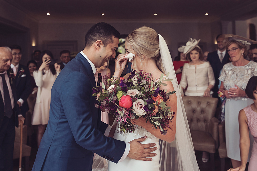 Katie and Hemal's breathtaking floral-filled Lake District wedding, with Tiree Dawson Photography (16)