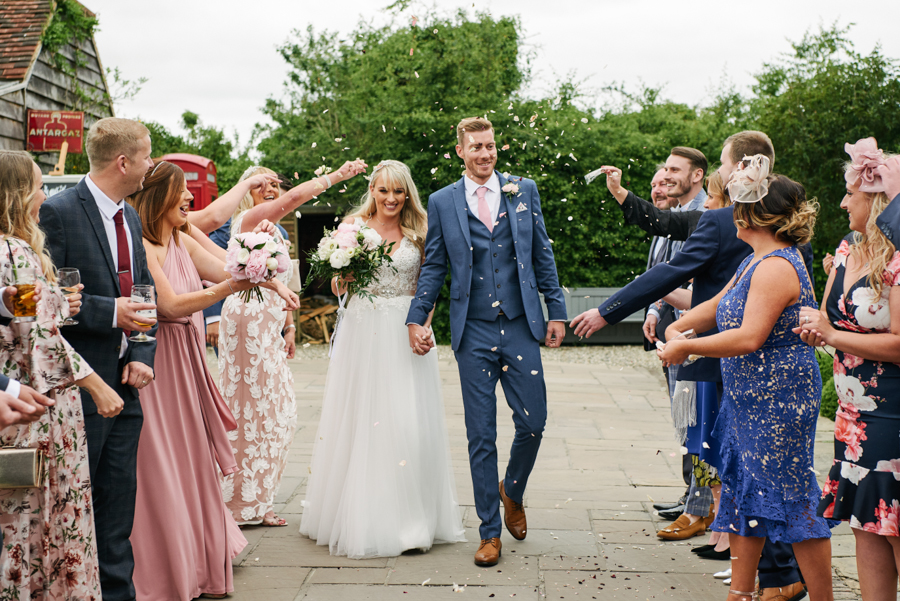 Penny and Ben's funfair wedding at Marleybrook with Rose Images (18)