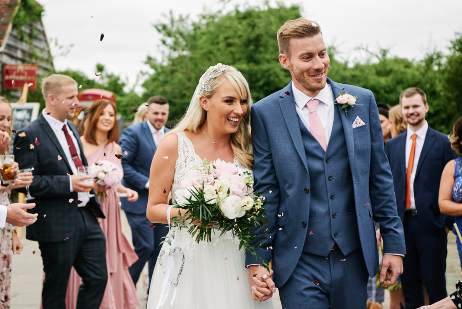 Penny and Ben's funfair wedding at Marleybrook with Rose Images (19)