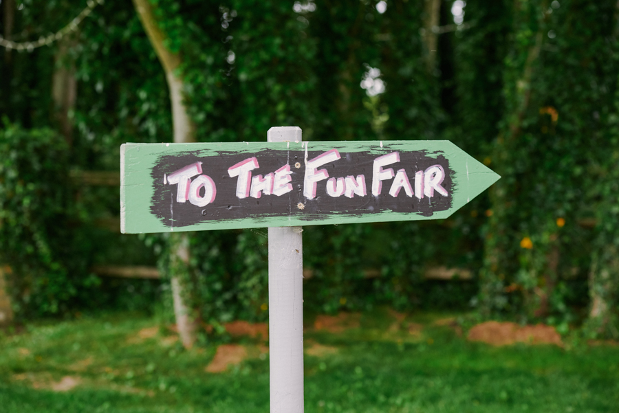 Penny and Ben's funfair wedding at Marleybrook with Rose Images (1)