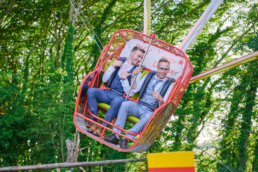 Penny and Ben's funfair wedding at Marleybrook with Rose Images (42)