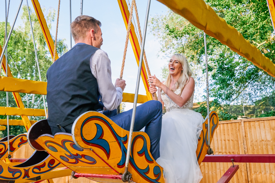 Penny and Ben's funfair wedding at Marleybrook with Rose Images (45)