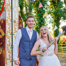English country garden with a twist for Penny & Ben's Marleybrook wedding, with Sally Rose