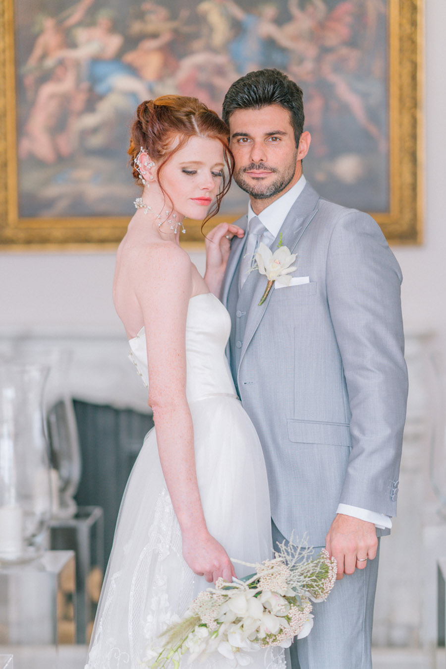 Beautiful emerald green and mustard wedding style ideas, photography by Ioana Porav (15)