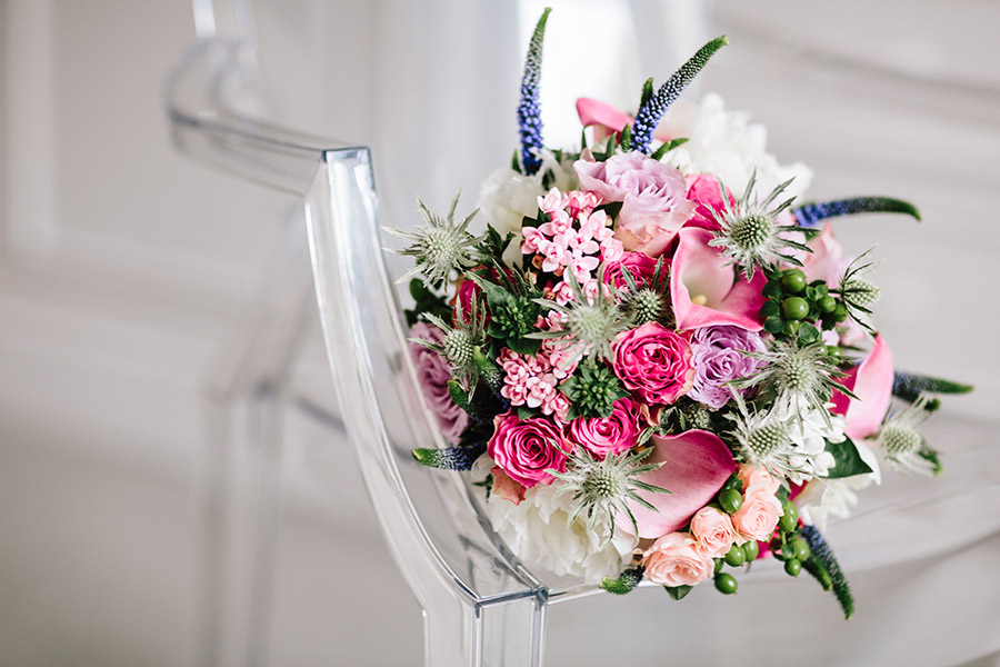 Incredible florals for Maryanne & Adam's beautiful Chippenham Park Hall wedding, with images by Nick + Maria (9)