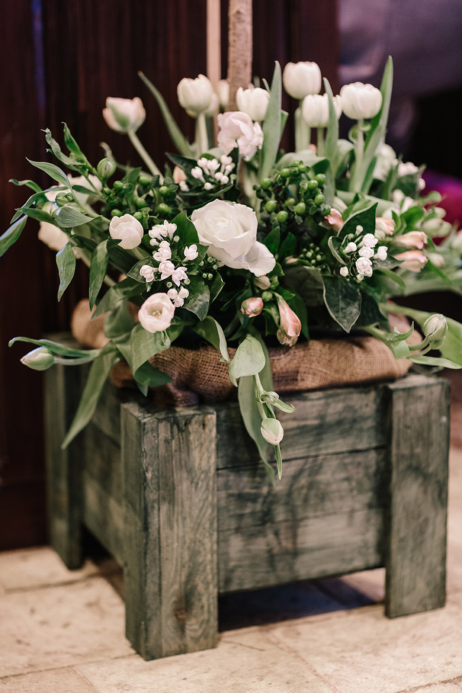 Incredible florals for Maryanne & Adam's beautiful Chippenham Park Hall wedding, with images by Nick + Maria (17)