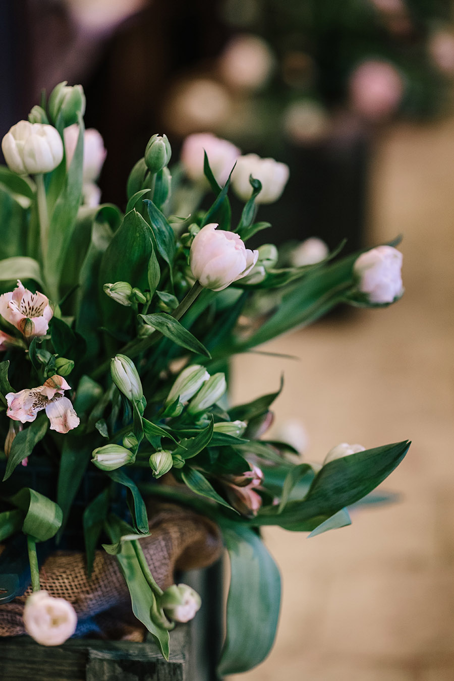 Incredible florals for Maryanne & Adam's beautiful Chippenham Park Hall wedding, with images by Nick + Maria (18)