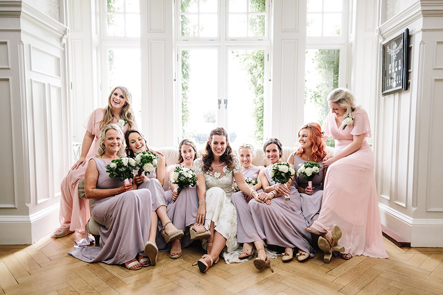 Incredible florals for Maryanne & Adam's beautiful Chippenham Park Hall wedding, with images by Nick + Maria (19)
