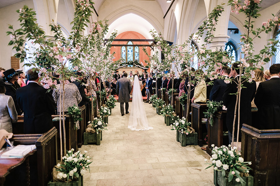 Incredible florals for Maryanne & Adam's beautiful Chippenham Park Hall wedding, with images by Nick + Maria (14)