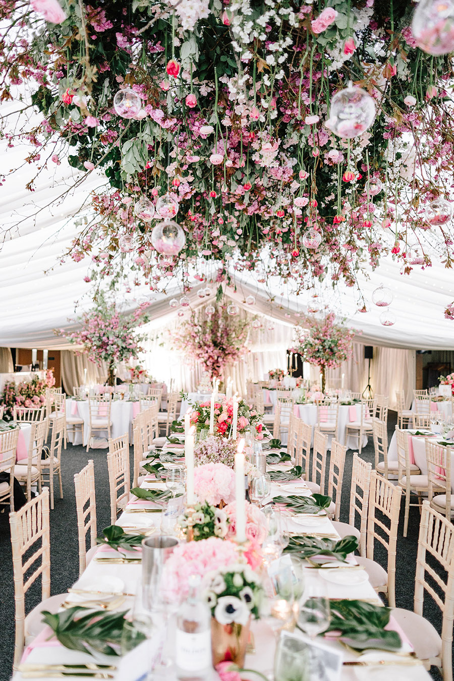Incredible florals for Maryanne & Adam's beautiful Chippenham Park Hall wedding, with images by Nick + Maria (26)