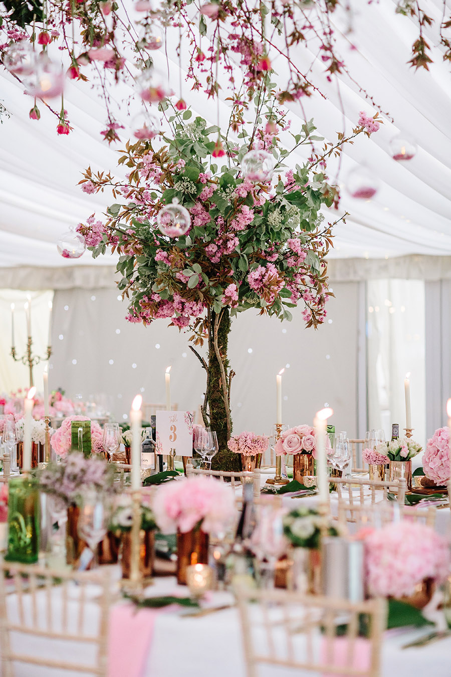 Incredible florals for Maryanne & Adam's beautiful Chippenham Park Hall wedding, with images by Nick + Maria (29)