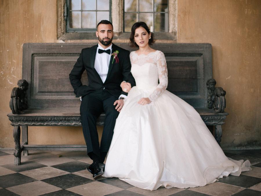 Bespoke bridal couture by Caroline Arthur, image credit Alexander J Collins at Ham House (1)