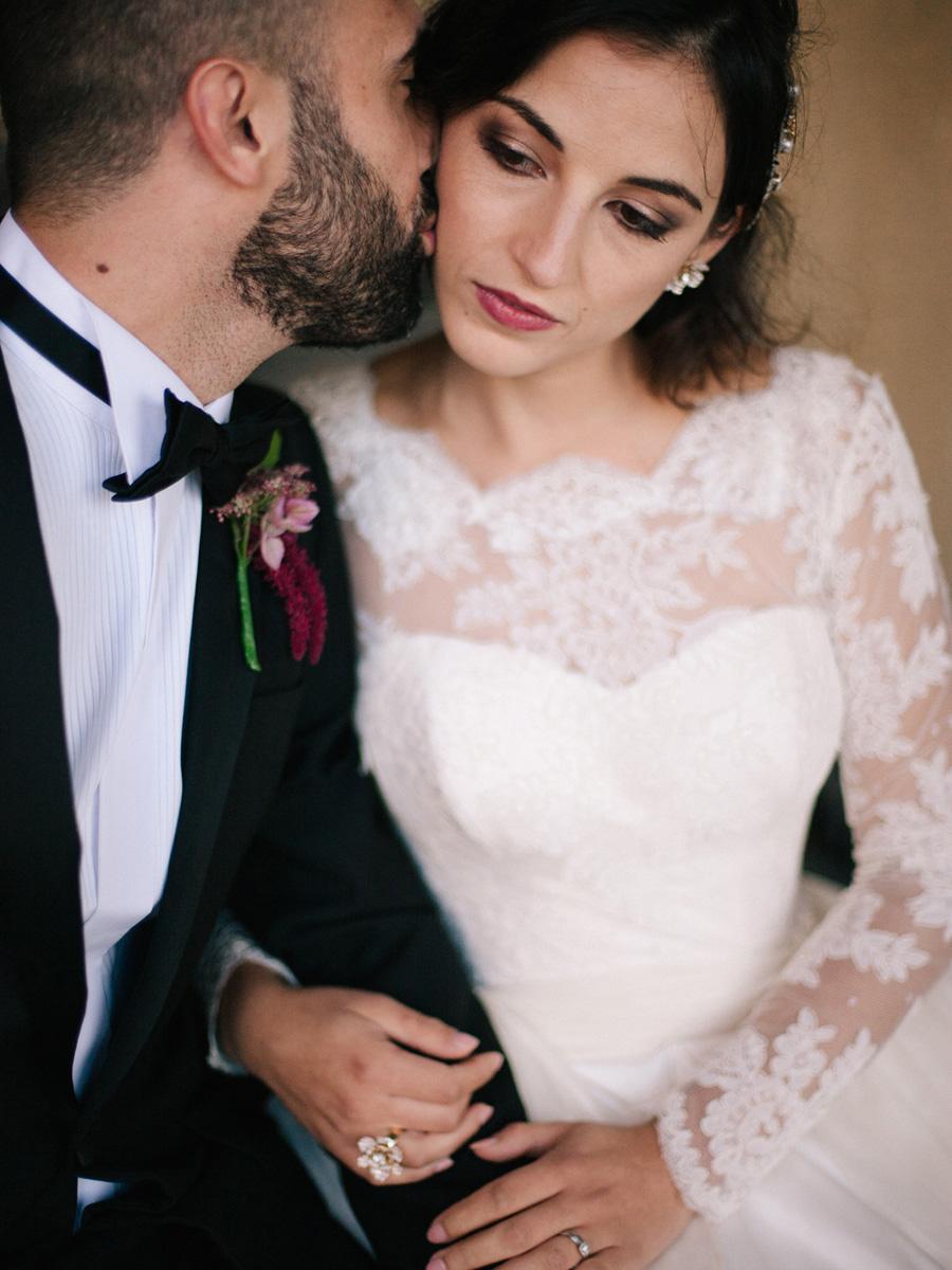 Bespoke bridal couture by Caroline Arthur, image credit Alexander J Collins at Ham House (2)