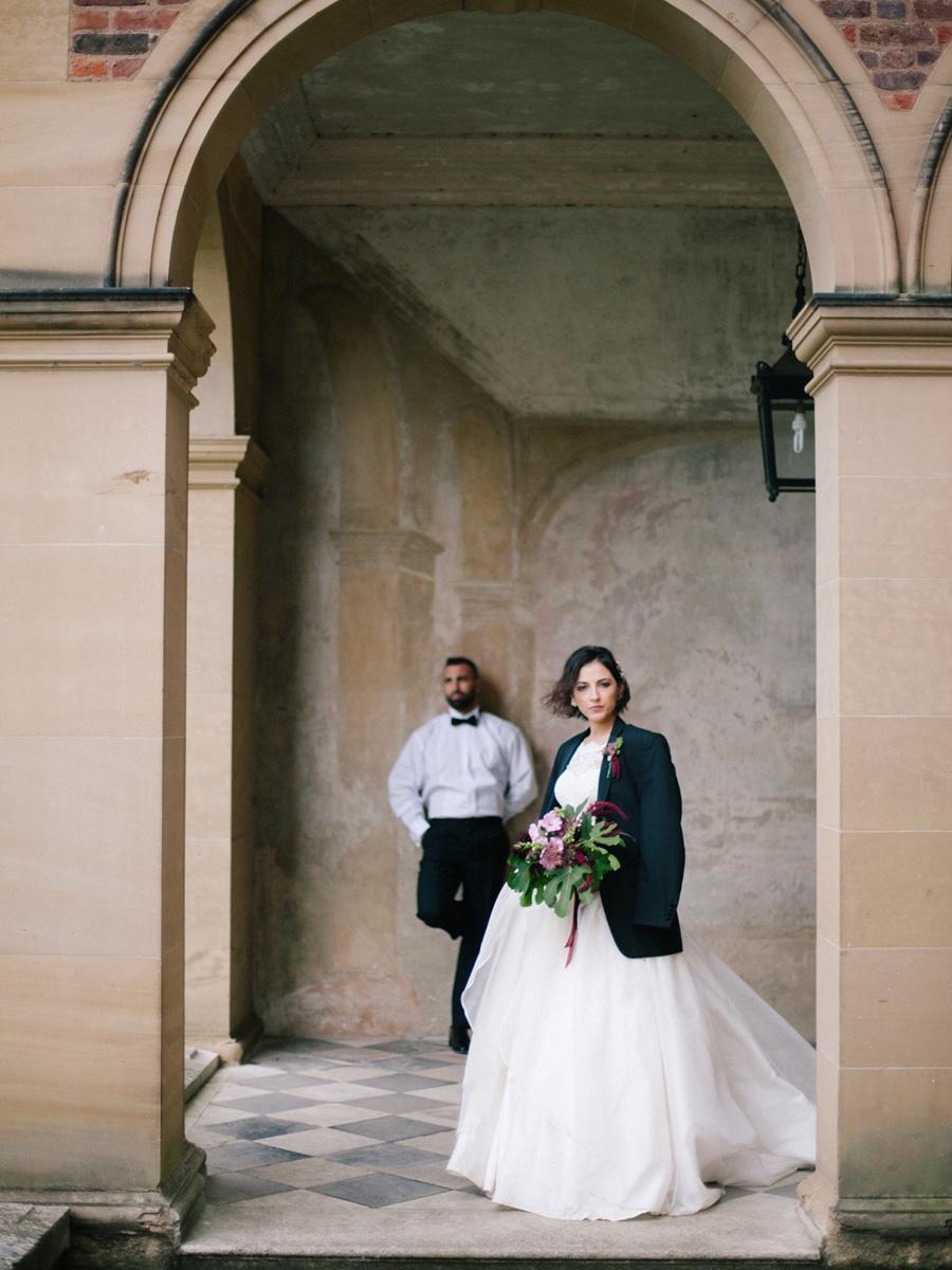 Bespoke bridal couture by Caroline Arthur, image credit Alexander J Collins at Ham House (13)