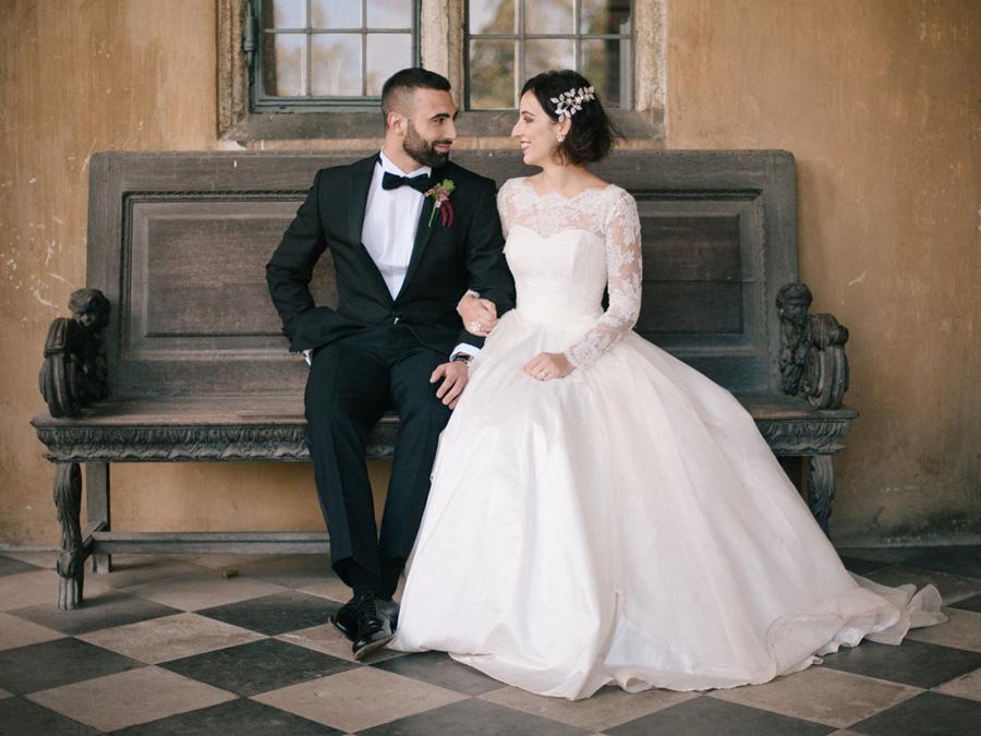 Bespoke bridal couture by Caroline Arthur, image credit Alexander J Collins at Ham House (23)