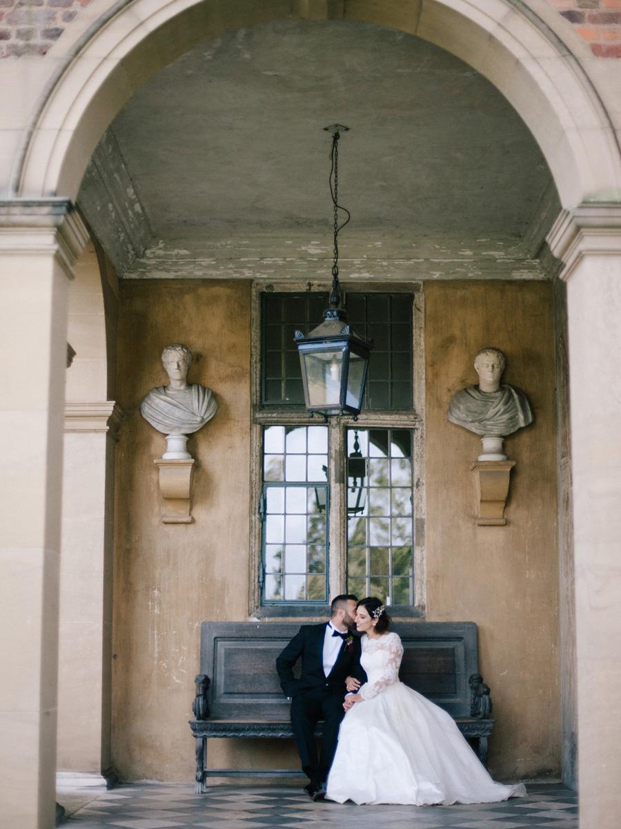 Bespoke bridal couture by Caroline Arthur, image credit Alexander J Collins at Ham House (25)