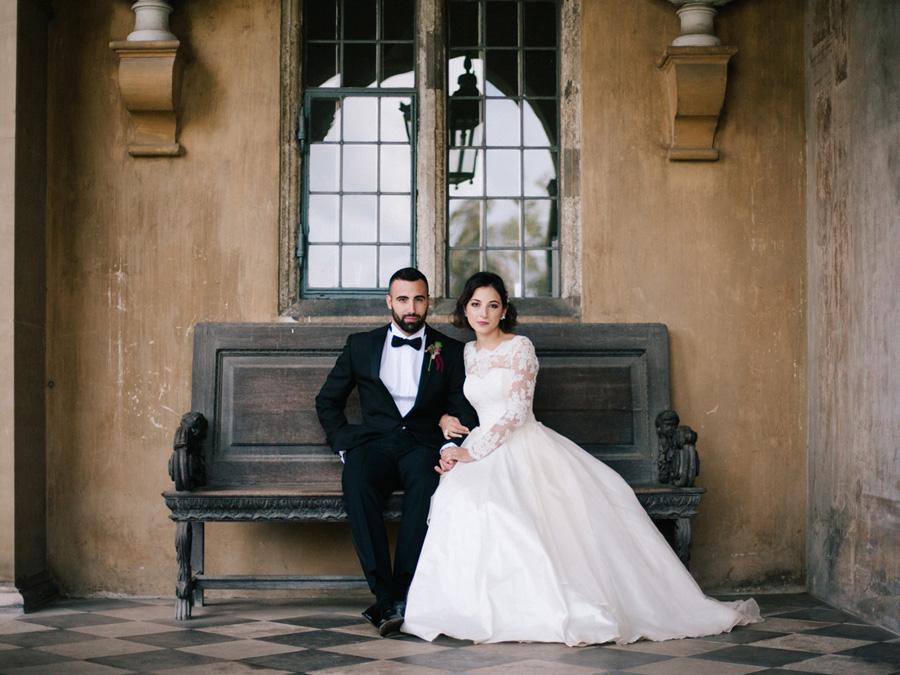 Bespoke bridal couture by Caroline Arthur, image credit Alexander J Collins at Ham House (26)