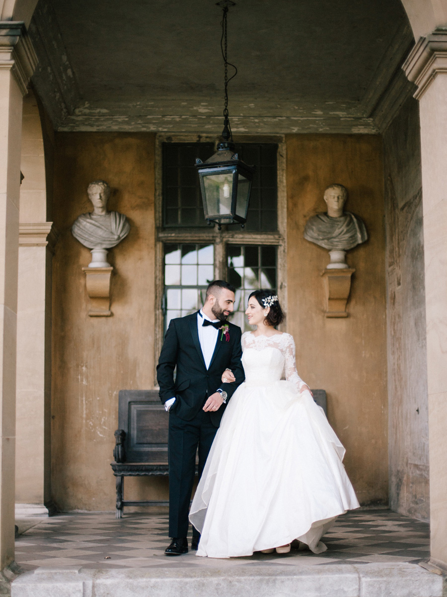 Bespoke bridal couture by Caroline Arthur, image credit Alexander J Collins at Ham House (27)