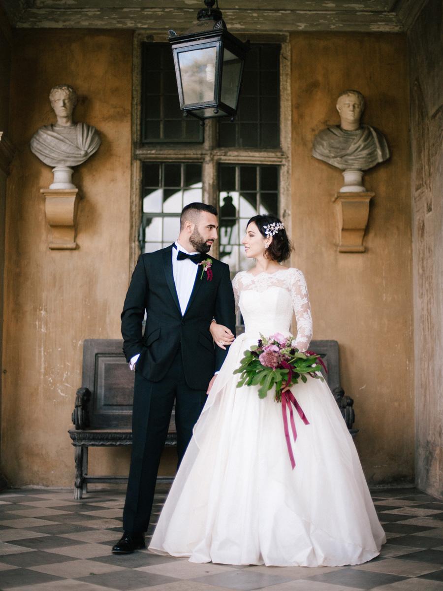 Bespoke bridal couture by Caroline Arthur, image credit Alexander J Collins at Ham House (28)
