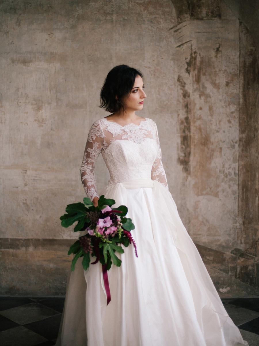 Bespoke bridal couture by Caroline Arthur, image credit Alexander J Collins at Ham House (29)