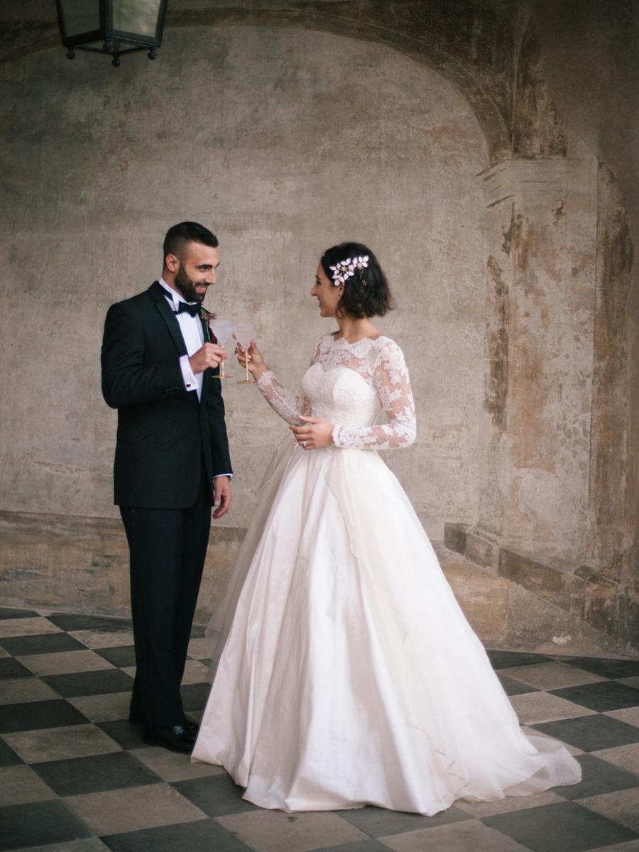 Bespoke bridal couture by Caroline Arthur, image credit Alexander J Collins at Ham House (31)