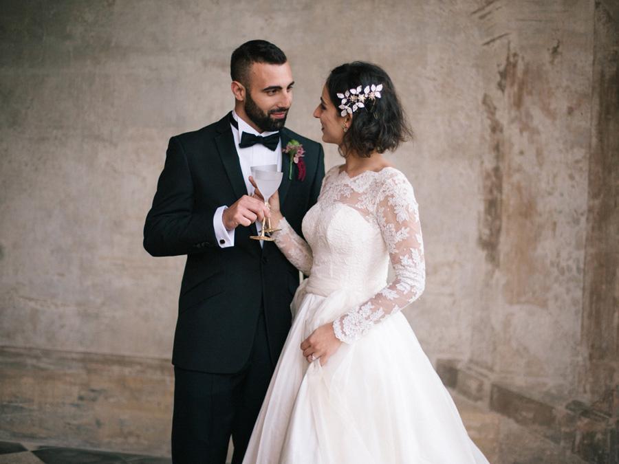 Bespoke bridal couture by Caroline Arthur, image credit Alexander J Collins at Ham House (32)