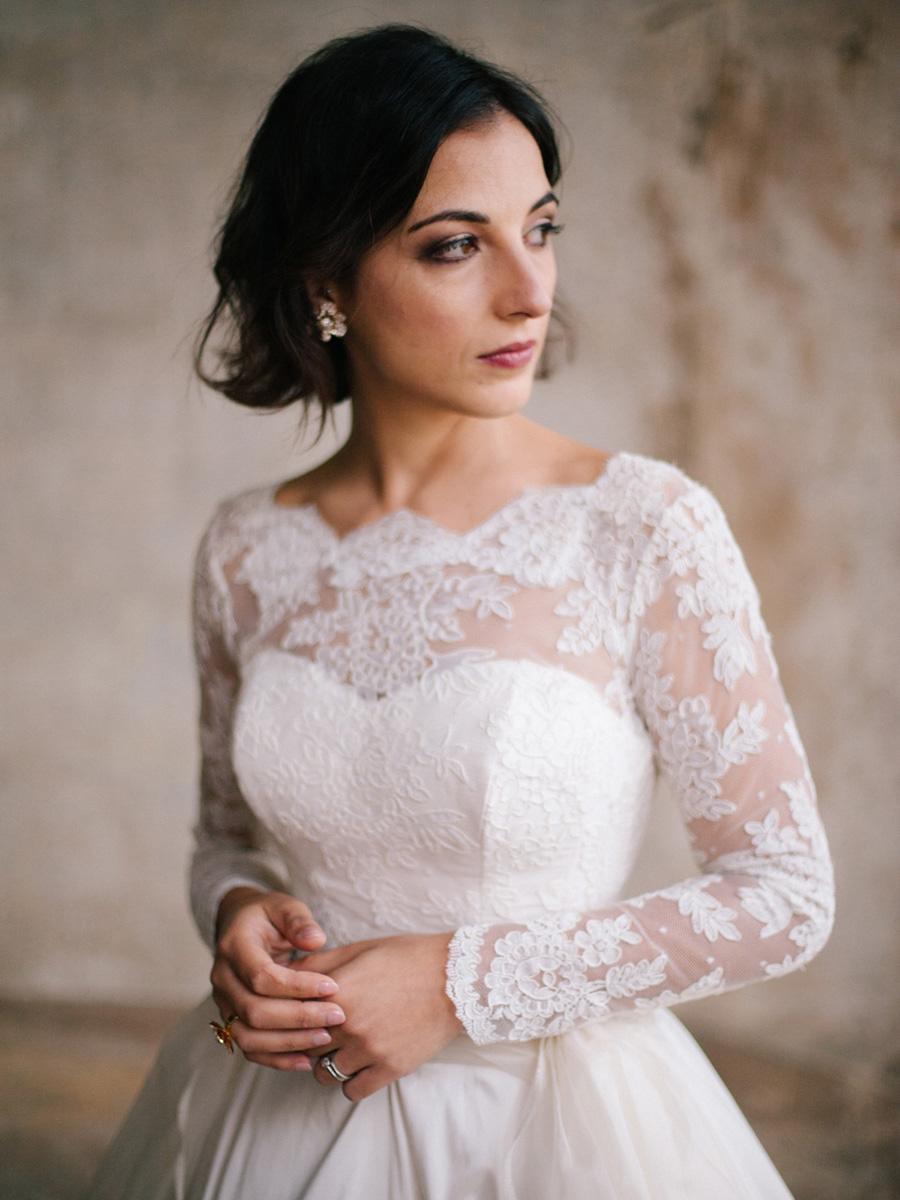 Bespoke bridal couture by Caroline Arthur, image credit Alexander J Collins at Ham House (33)