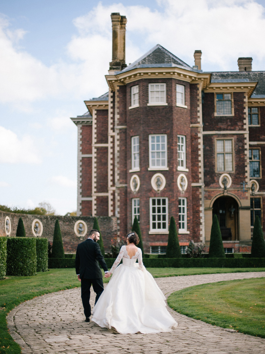 Bespoke bridal couture by Caroline Arthur, image credit Alexander J Collins at Ham House (36)