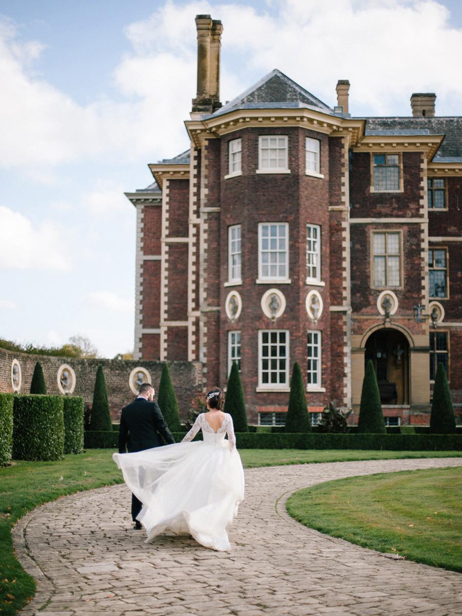 Bespoke bridal couture by Caroline Arthur, image credit Alexander J Collins at Ham House (37)
