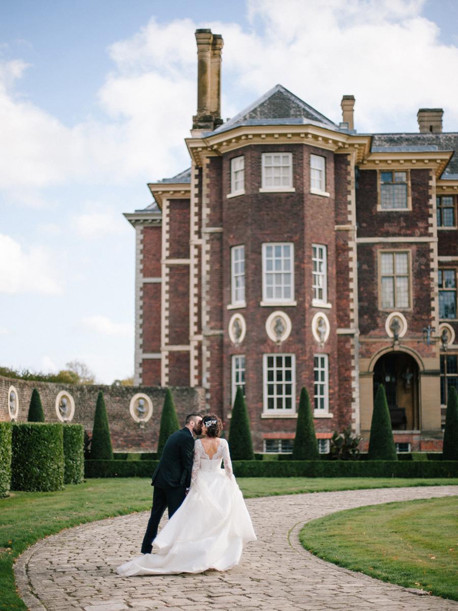 Bespoke bridal couture by Caroline Arthur, image credit Alexander J Collins at Ham House (38)