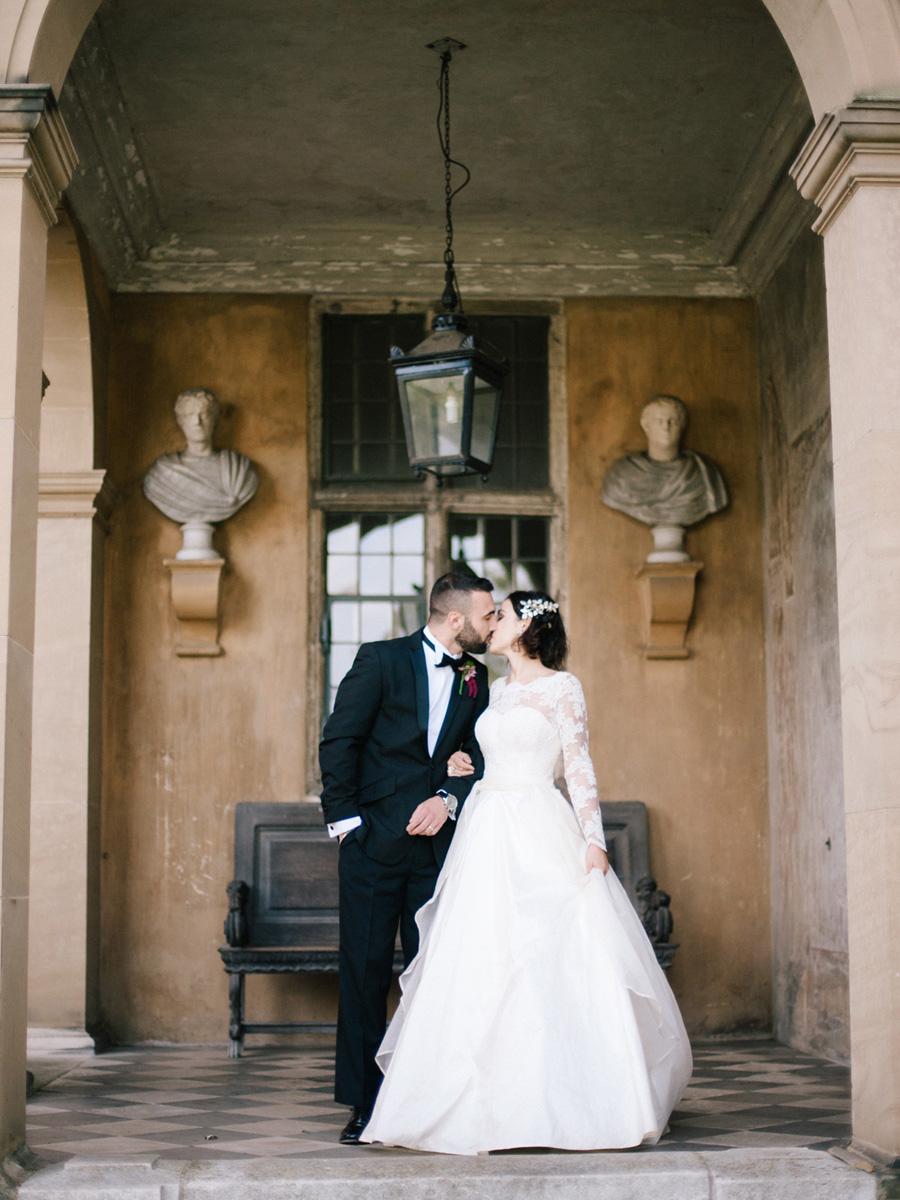 Bespoke bridal couture by Caroline Arthur, image credit Alexander J Collins at Ham House (6)