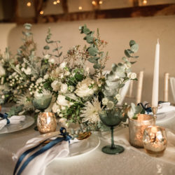 Timeless winter wedding style, with Becky Harley Photography